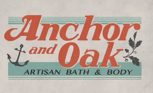 A soap label using the Elbie font from the American Poster Fonts of World War II font set
