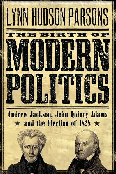 book cover for Modern Politics, featuring Ashwood Condensed, a font from the Wild West Press font set