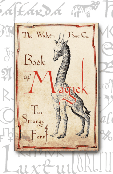 Header image for the Magick set of fonts